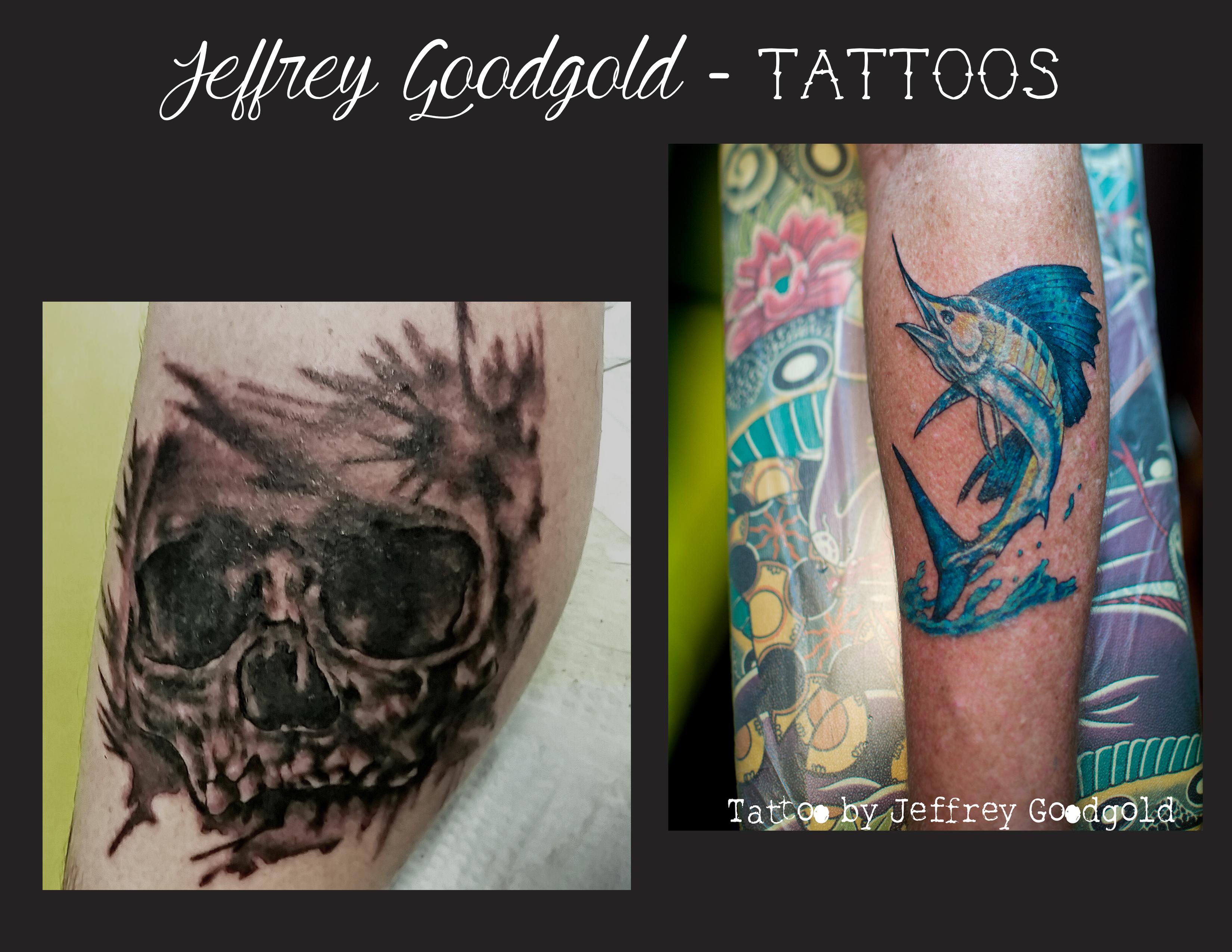 skull-fish tattoo