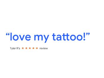 I love my tattoo from Guru tattoo