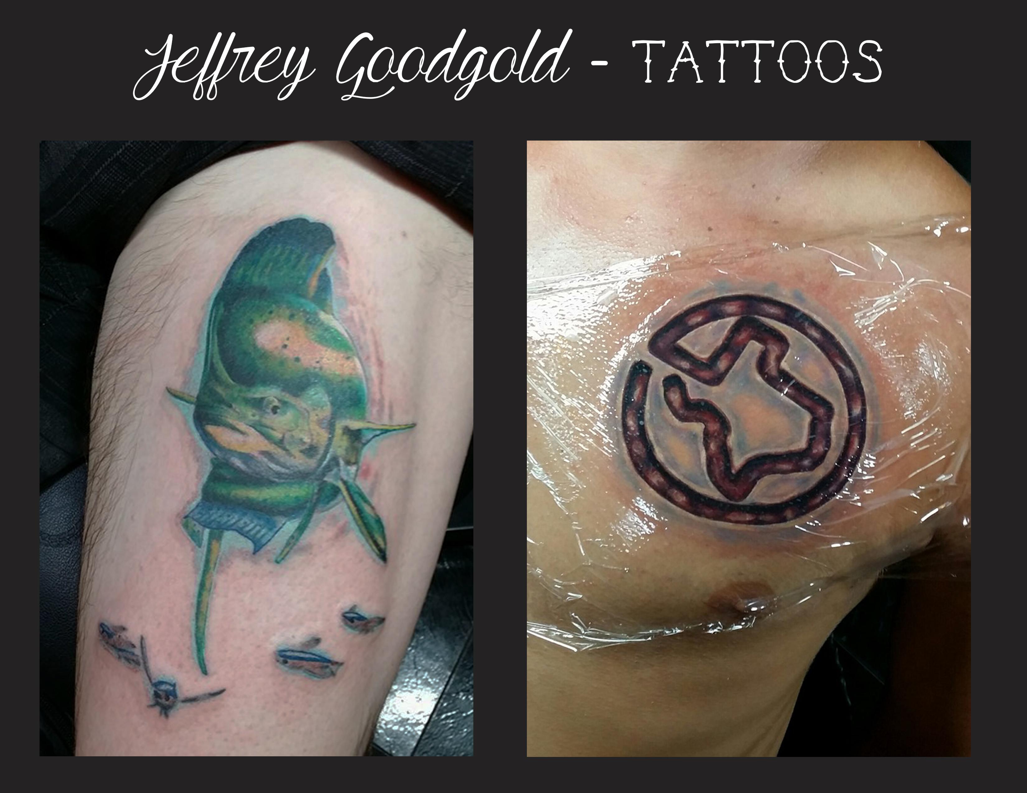 Mahi & Texas tattoo