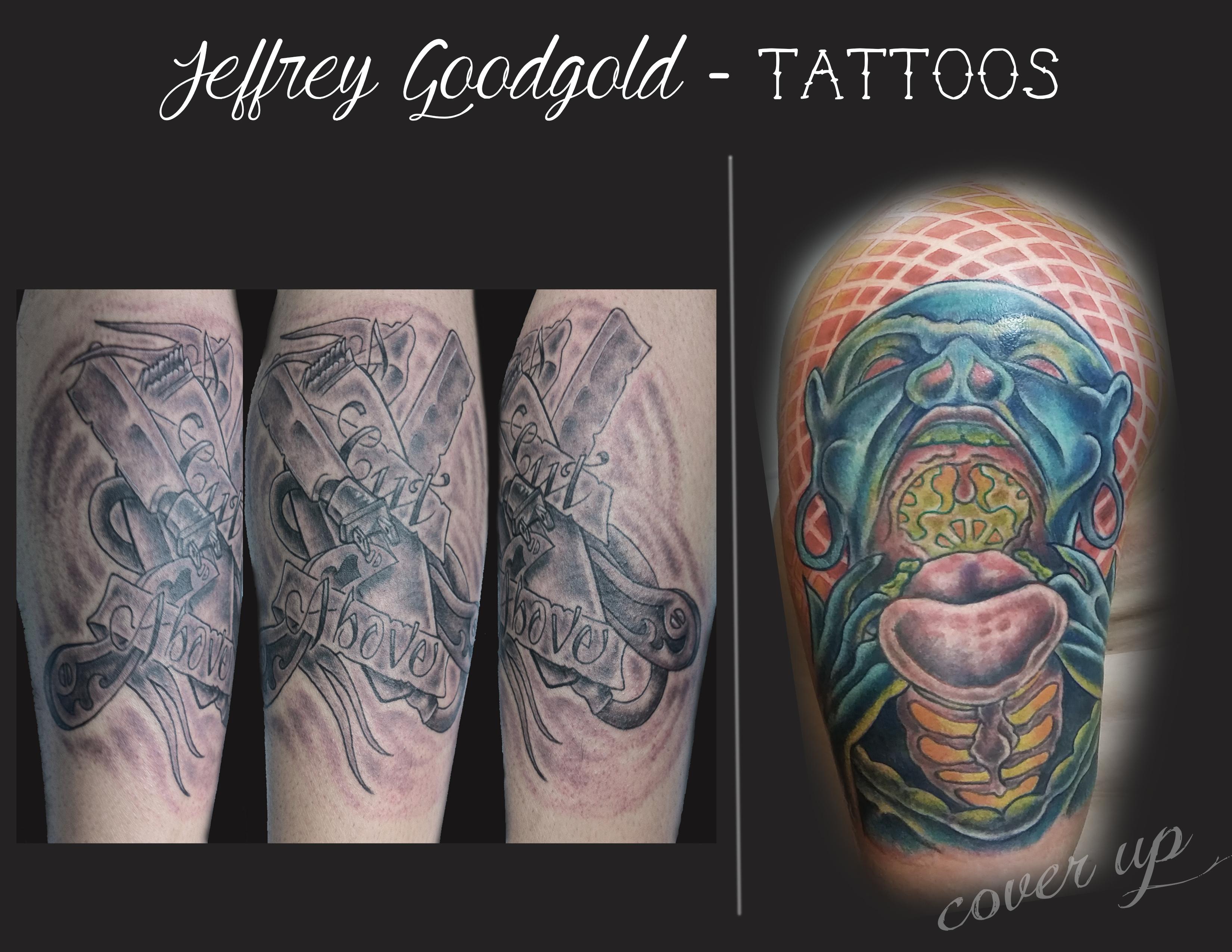 Barber & trippy tattoo