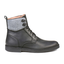 Aleixo Lace Up Boot Black (1)
