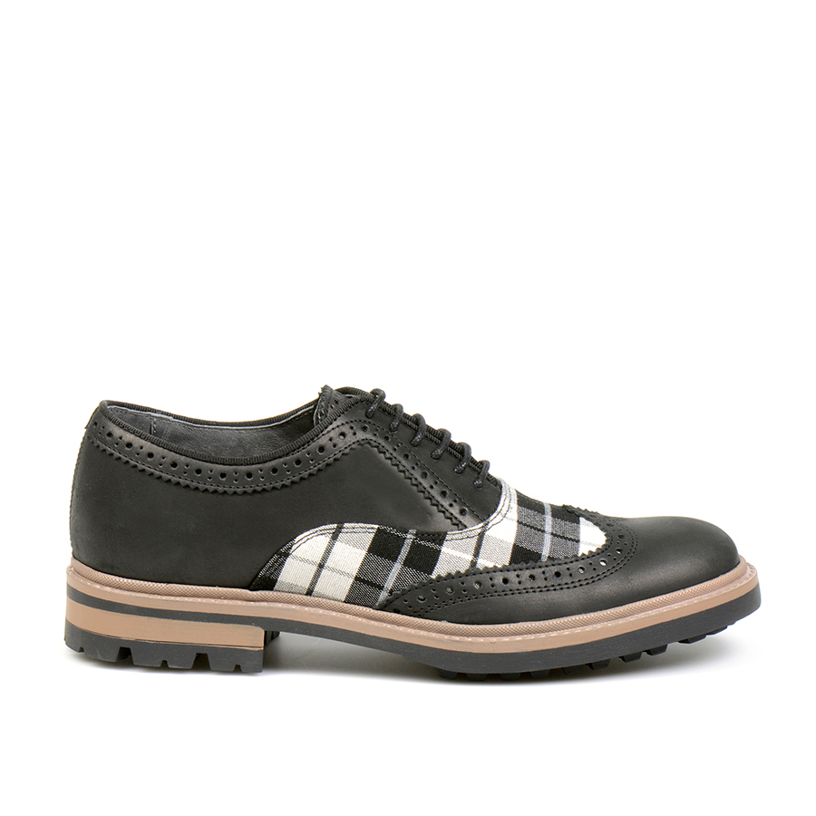 Alfandega Oxford Brogue Wales Black