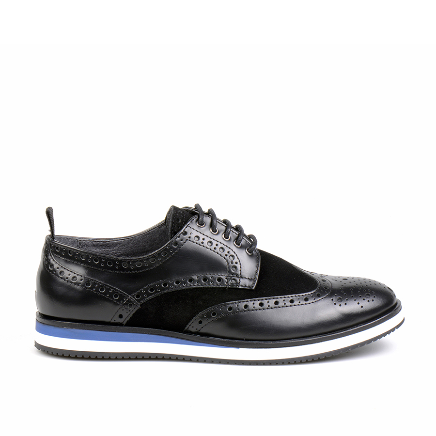 Infante Wingtip Polished Black (1)
