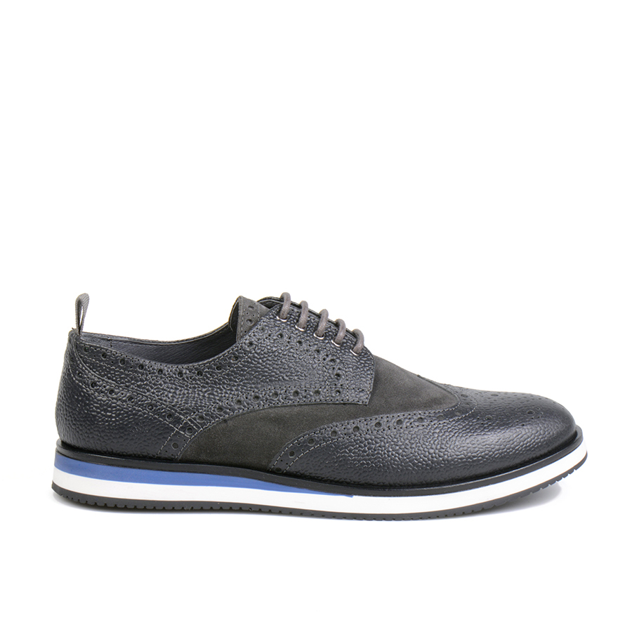 Infante Wingtip Full Grain Grey (1).