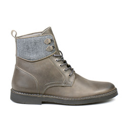 Aleixo Lace Up Boot Grey (1)