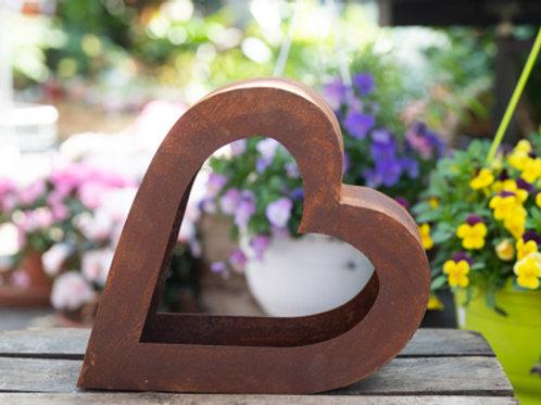 Herz zum Bepflanzen