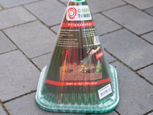 Schutzhütchen für junges Gemüse