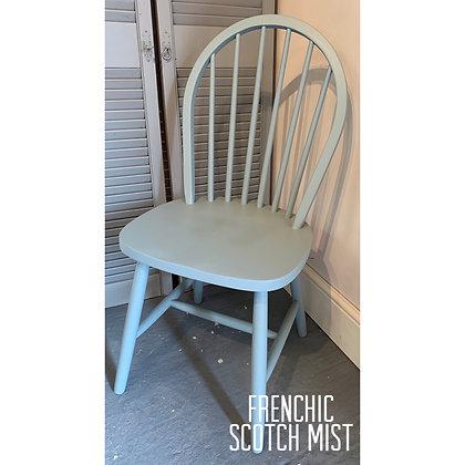 Mismatched Painted Chair - Scotch Mist - Duck Egg Blue