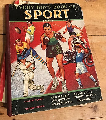 Vintage - Every Boys Book of Sport 1952