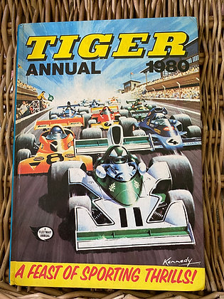 Vintage Tiger Annual 1980