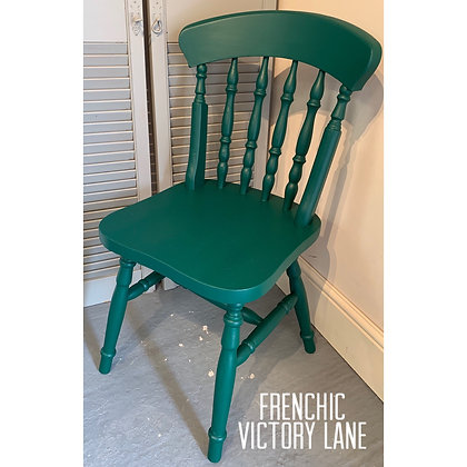 Mismatched Painted Chair -Victory Lane - Dark Green