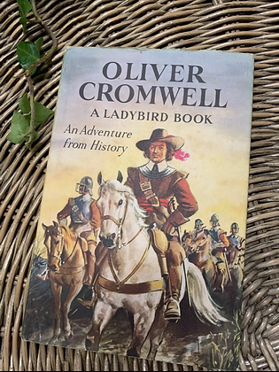 Vintage Lady Bird Book - Oliver Cromwell