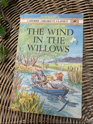 Vintage Lady Bird Book - The Wind and the Willows