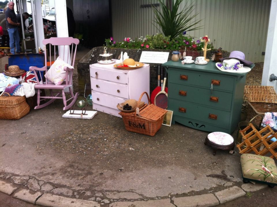 Selling at Shepton Flea