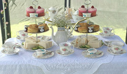 Our Cake Stands & Tea Cups