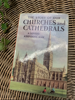 Vintage Lady Bird Book - Churches and Cathedrals