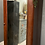 Thumbnail: Antique Single Linen Mirror Fronted Linen Cupboard
