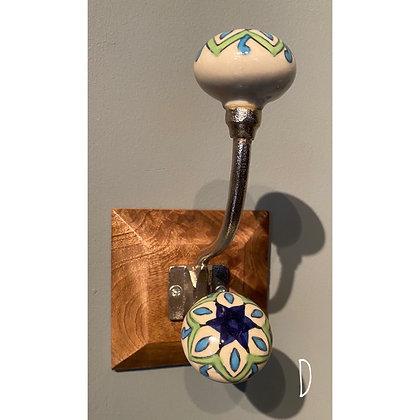 Single Ceramic Hook (D)