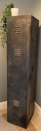 Vintage Black Metal Locker