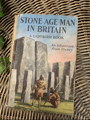 Vintage Lady Bird Book - Stone Age Man in Britain
