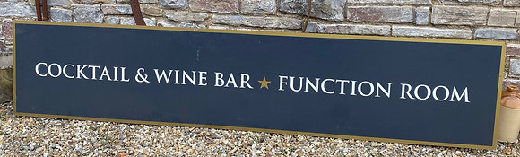 Large Ex Pub Sign - Perfect for a Man Cave