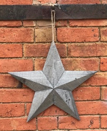 Rustic Wooden Barn Star