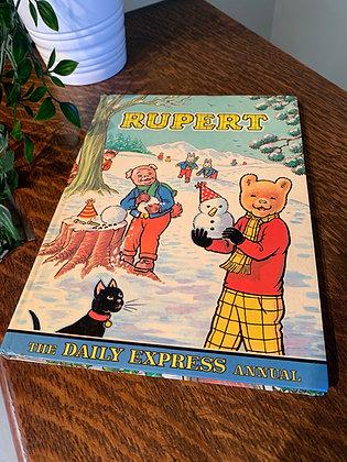 Vintage 1974 Rupert Annual