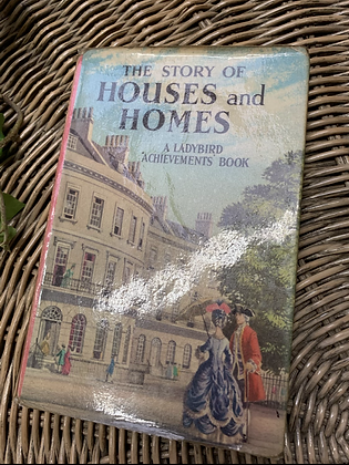 Vintage Lady Bird Book - House and Homes
