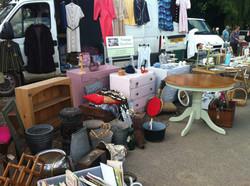 Selling at Shepton Flea Market