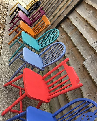 Painted Vintage Farmhouse Mix & Match Chairs- Painted to order