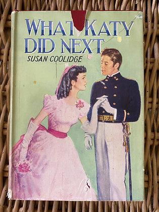 Vintage What Katy Did Next - Susan Coolidge
