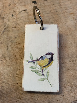 Bird Key Ring - Blue Tit
