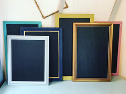 Six little Blackboard sitting in a row... ready now more to come..