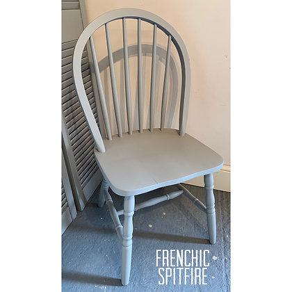 Mismatched Painted Chair - Spitfire - Grey
