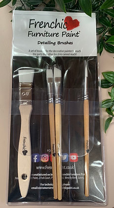 Set of 4 Frenchic Detailing Brushes