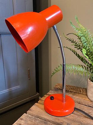 Retro Orange Adjustable Desk Lamp