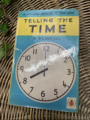 Vintage Lady Bird Book - Telling the Time