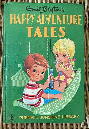 Vintage Enid Blyton - Happy Adventure Tales