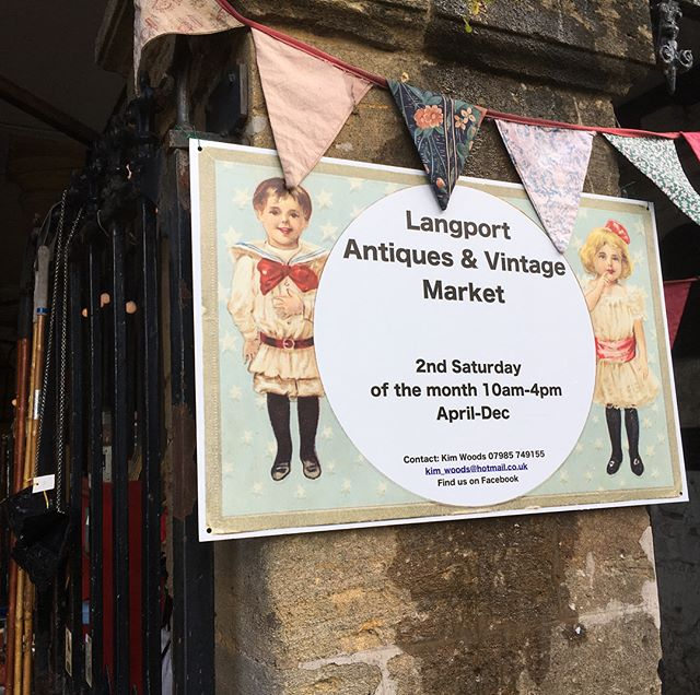 Langport Antique & Langport Antiques & Vintage Market , Somerset. This Saturday