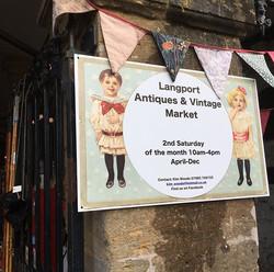 Langport Antique & Langport Antiques & Vintage Market , Somerset. This Saturday