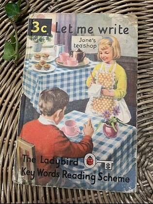 Vintage Lady Bird Book - Let me Write