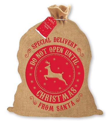 Vintage Inspired Christmas Sacks