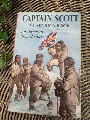 Vintage Lady Bird Book - Captain Scott