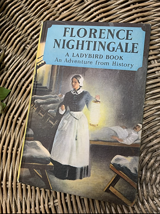 Vintage Lady Bird Book - Florence Nightingale