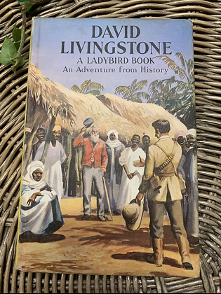 Vintage Lady Bird - David Livingstone an adventure from history