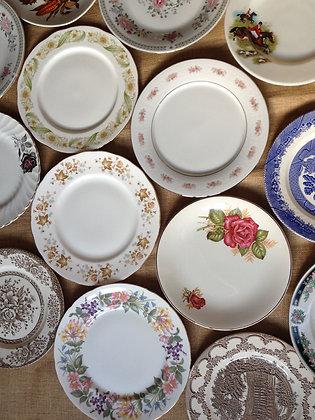 Vintage Dessert Plate