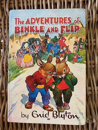 Vintage Enid Blyton - The Adventures of Binkle and Flap