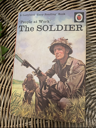 Vintage Lady Bird Book - The Soldier