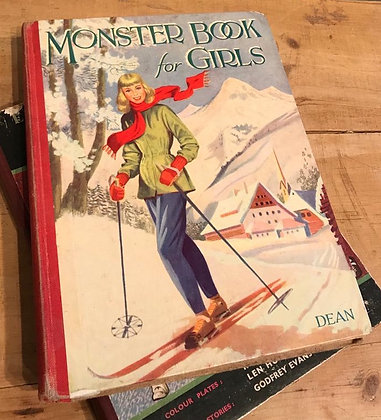 Vintage - Monster Book forGirls