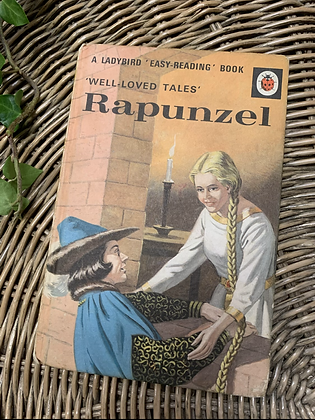 Vintage Lady Bird Book - Rapunzel